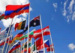 چاپ انواع پرچم رومیزی ، لیزری ، تشریفاتی ، اهتراز